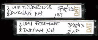 05/08/1993 UNH Fieldhouse Durham, NH